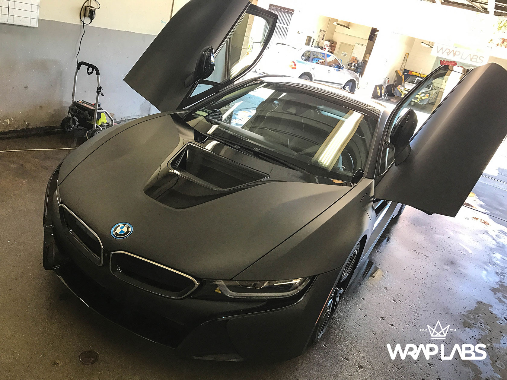 Bmw I8 Car Wraps Best Vinyl Wraps 3m Avery Wrap Labs
