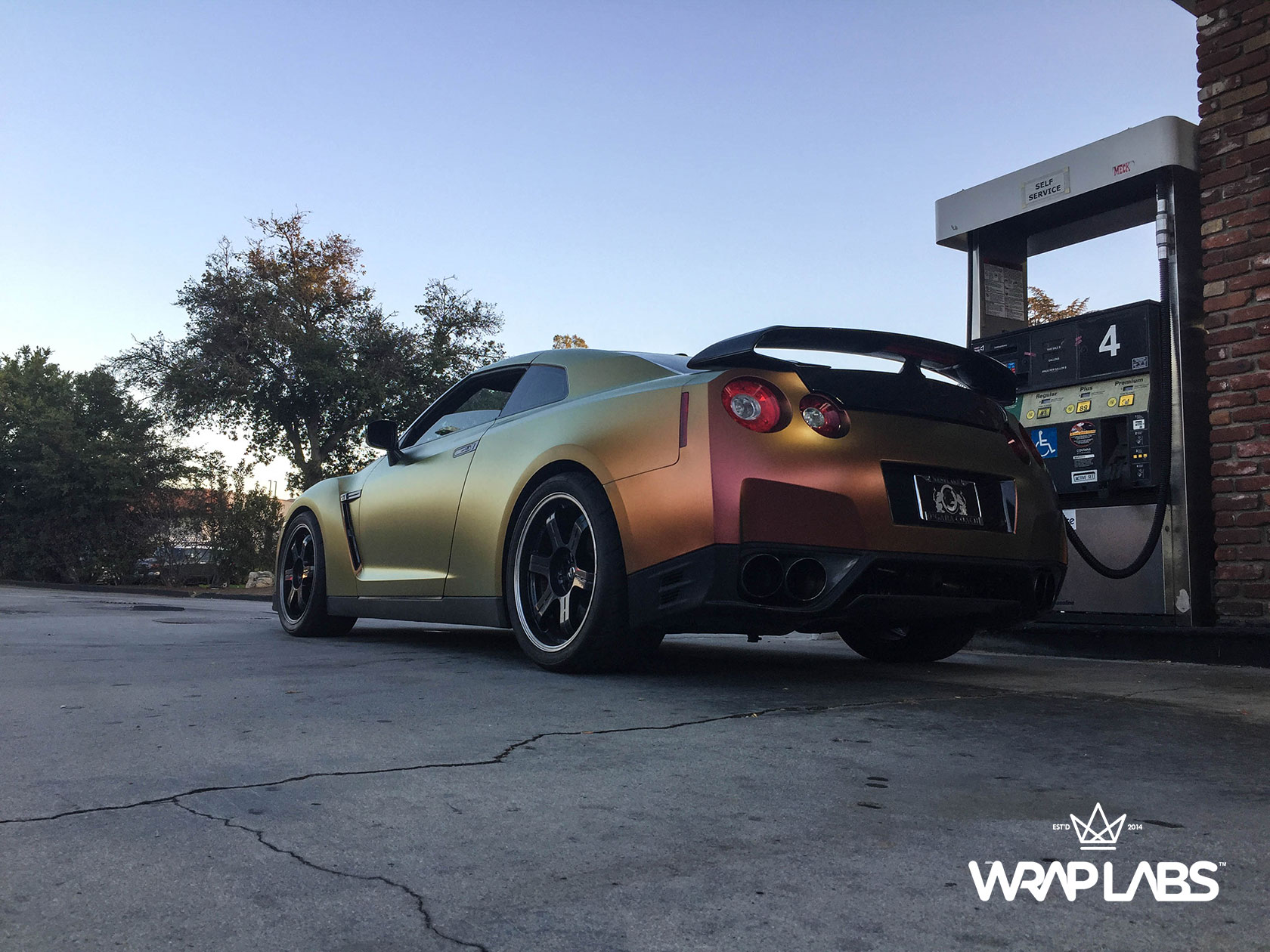 Nissan Gt R Car Wraps Best Vinyl Wraps 3m Avery